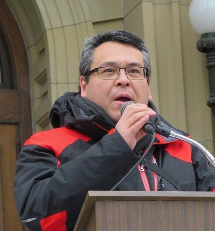 Poundmaker's Lodge Executive Director Brad Cardinal