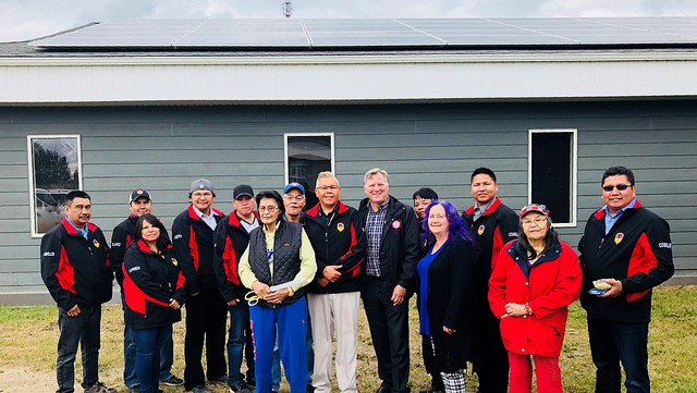 Little Red River Cree Nation Goes Green Alberta Native News
