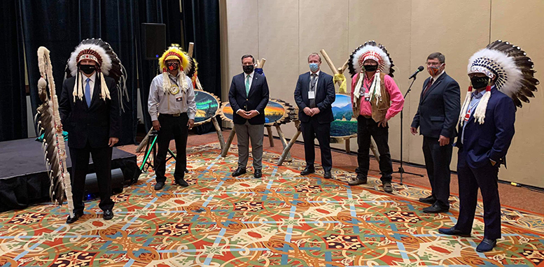 Alberta Indigenous Opportunities Corp Gives Six First Nations A Loan Guarantee For A Major Power Project Alberta Native News