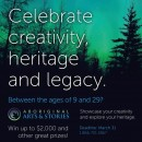 National Art and Writing Contest for Indigenous Youth: Deadline March 31, 2017