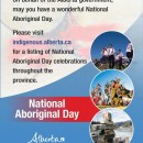 Celebrate National Aboriginal Day in Alberta and across Canada
