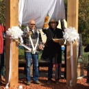 St. Albert Healing Garden captures the essence of reconciliation