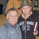 """The Riverton Rifle"" Reggie Leach visits Conklin"