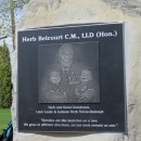 Herb Belcourt Park unveiled in Sherwood Park